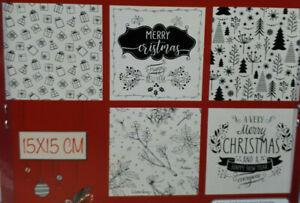 Prägeschablone Weihnachten Präge-Folder Embossing-Schablone Pakete, Schrift,