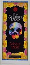 GRATEFUL DEAD MARDI GRAS LIMITED EDITION ROCK CONCERT POSTER TROY ALDERS