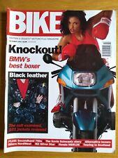 Bike Magazine - OCT 1993 - SCHWANTZ  - NORDWEST - GPX - FZ750 - BMW R1100RS -