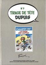 EO 1982 TIRAGE DE TÊTE N° ANDRÉ FRANQUIN + GASTON LAGAFFE : LA SAGA DES GAFFES