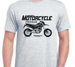 Honda FMX650 2005 Vintage Retro Classic inspired motorbike art shirt tshirt
