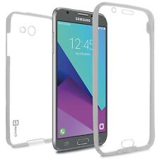 For Samsung Galaxy J7 Prime / J7 Sky Pro / Halo Case Slim Full Body Cover Clear