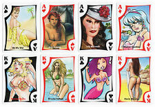 2016 Island Dreams 6 The Girls of the Island Sketch Art 54 Playing Card Base Set