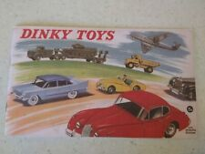 REPRODUCTION Dinky Toys Catalogues -  1959 by Atlas Editions