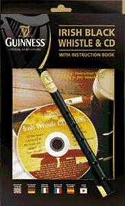 """WALTONS """"Guinness"""" Tin Whistle in D mit Lehrheft & CD"""