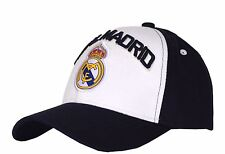 a08d6c7e5db Real Madrid FC Club Adjustable Cap Hat - Black Soccer Ronaldo Child Size 52  Cm