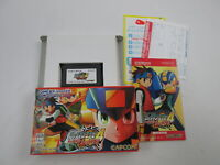 Rockman Exe 4 Red Sun Game Boy Advance GBA Japan Ver