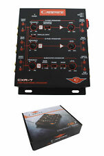 CADENCE  3-WAY 6-CHANNEL INPUT ELECTRONIC CROSSOVER W/ 7-VOLT RCA OUTPUTS CXR7