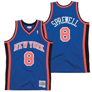 Latrell Sprewell New York Knicks Mitchell & Ness NBA 1998-1999 Authentic Jersey