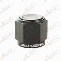 8AN -8AN AN8 -8AN Flare Cap Caps Block Off Fitting Aluminum Black