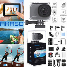 AKASO V50 Pro 4K 20MP WiFi Action Camera EIS Touch Screen Sports Cam Waterproof