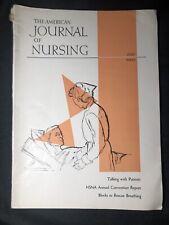 July 1960 American Journal Of Nursing Science Medical Nurse Bedside Manner
