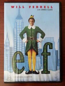 Elf (DVD) Region 4 - Will Ferrell - Children's Comedy Christmas Movie