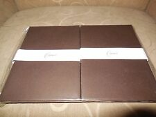 CRANE'S Stationery - 40 Plain Brown Sheets and 20 Plain Brown Envelopes - New