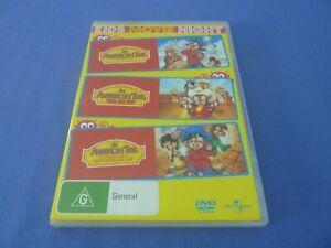 An American Tail / Fievel Goes West / Treasure Of Manhattan Island DVD R 2,4,5