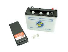 AWS XL Batería 6v 4,5Ah adecuado para SIMSON KR51 Schwalbe Star Sperber