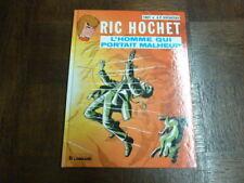 RIC HOCHET TOME 20 - L HOMME QUI PORTAIT MALHEUR - TIBET DUCHATEAU