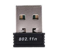Adattatore WIRELESS CHIAVETTA MINI ADATTATORE USB WIFI 150 Mbps 802.11 B G N Rete LAN