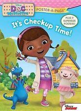 Disney Junior Doc McStuffins: It's Checkup Time! Poster-A-Page (Disney Doc McStu