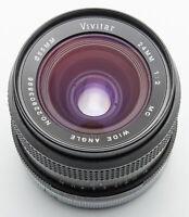 Vivitar 24mm 24 mm Auto Wide Angle 1:2 - Canon FD