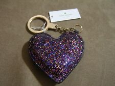 Kate Spade Glitter Heart Key Fob (Multi-color)-NWT (WORU0119)