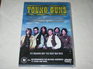 Young Guns - Charlie Sheen - Brand New & Sealed - Region 4 - DVD