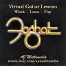 Custom Guitar Lessons, Learn FOGHAT - DVD Video