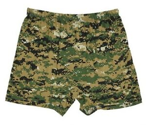 New Russian Army Soldiers Military Underwear  Camouflage Boxers Trunks