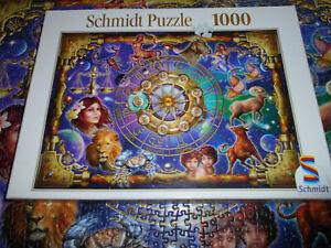 1000 Teile, Schmidt Puzzle von Ciro Marchetti,Astrologie,