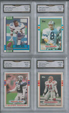 TOPPS EMMITT SMITH TROY AIKMAN MICHAEL IRVIN SANDERS 4 ROOKIE GEM 10 S.B.CHAMPS