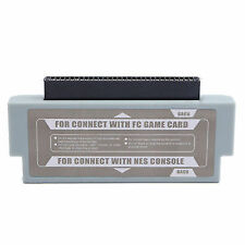 FC to Nes 60 Pin to 72 Pin Adapter Converter for Nintendo Console System Y7l8