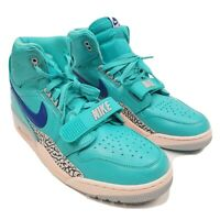 Nike Air Jordan Legacy 312 Mens Basketball Shoes 12 AV3922-348 Hyper Jade Blue