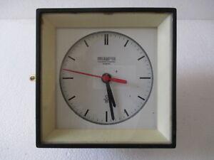 Vintage Marine Ship Wempe Coronometerwarke Hamburg Clock Made In Original