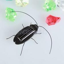 Novelty Solar Cockroach Sunshine Powered Insects Animals Model Kids Fun Toy