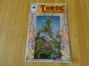 RARE COPY OF TUROK: DINOSAUR HUNTER #1 CHROME COVER COMIC BOOK!