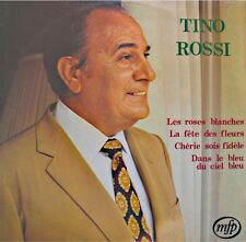 ++TINO ROSSI les roses blanches/cherie sois fidele LP 1972 MFP VG++