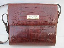 AUTHENTIQUE  sac à main  TED  LAPIDUS Paris  vintage  cuir  TBEG bag