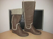 Mia Shoes Size 6.5 M Womens New Lynn C19827 Taupe Knee High Fashion Winter Boots