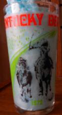 Kentucky Derby 1972 souvenir Derby Mint Julep Glass