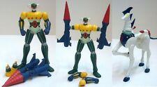 JEEG ROBOT  D'Acciaio Cavallo Pantheroid Anime Action figure 7,5cm  Nuovo