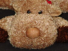 Sparkly Christmas Reindeer Russ Berrie Plush Stuffed Animal Antlers Deer