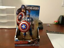 "CAPTAIN AMERICA The First Avenger SHIELD-WIELDING SUPER SOLDIER 8"" Marvel 2011"