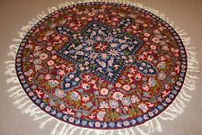 Round Persian Handmade Wool Rug Carpet Runner,Oriental Home Floor Decor Area