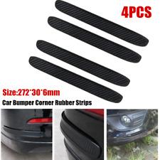 4Pack Universal Car Bumper Corner Rubber Strip Anti-rub Scratch Protector Guard