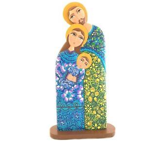 Wooden Nativity Scene Catholic Statues Handmade