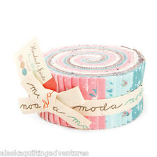"""Moda FABRIC Jelly Roll ~ KINDRED SPIRITS ~ Bunny Hill Designs 40 - 2 1/2"""" Strips"""