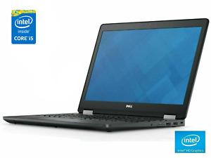 """Fast Laptop Dell Latitude E7240 12.5"""" HD, Intel i5 4th Gen, 128GB SSD Windows 10"""