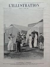 L' ILLUSTRATION 1908 N 3398 LA CROIX ROUGE A CASABLANCA,LES FILLES DU Gal VOISIN