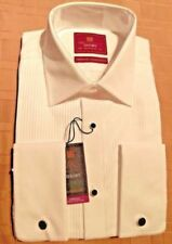 Marks and Spencer Double Cuff Tuxedo, Dress Formal Shirts for Men