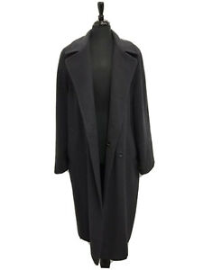Marks and Spencer Long Coat Wool Size 16